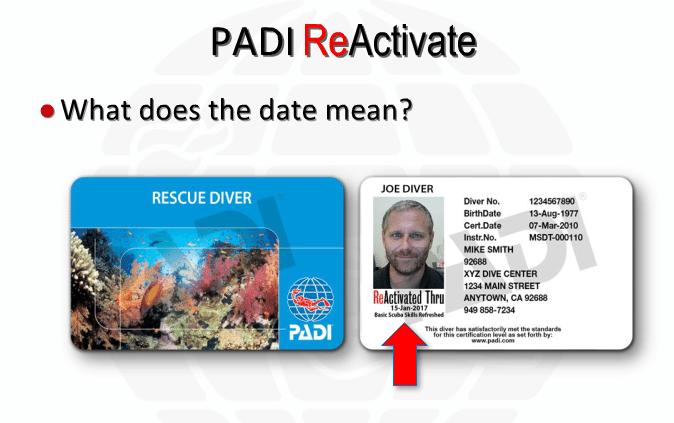 ReActivate Thru Date