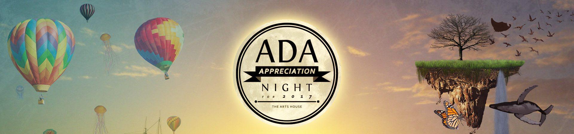ADA Web header banner