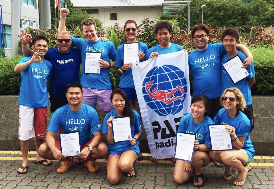 PADI IE Singapore