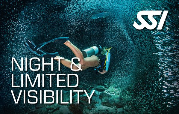 SSI Night Limited Visibility | SSI Night Limited Visibility Course | Night Limited Visibility | Specialty Course | Diving Course | Amazing Dive