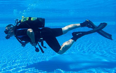 open water   Amazing Dive