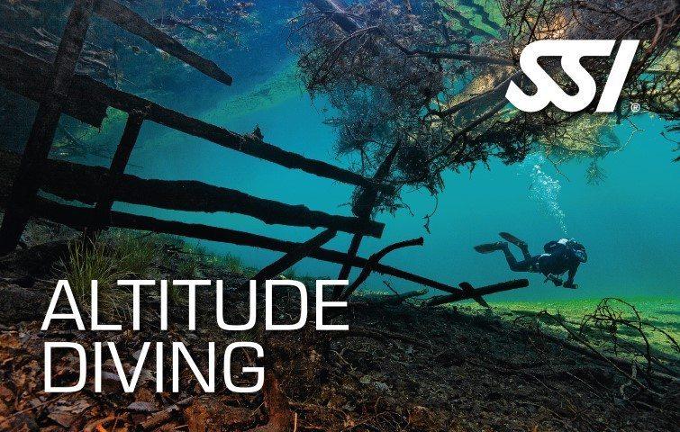 SSI Altitude Diver   SSI Altitude Diver Course   Altitude Diver   Diving Course   Amazing Dive