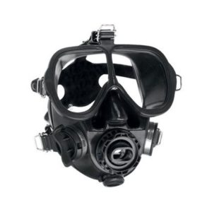 Scubapro Full Face Mask - Black Silicone Skirt