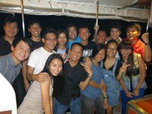 Amazing Crew on MV Nautica.