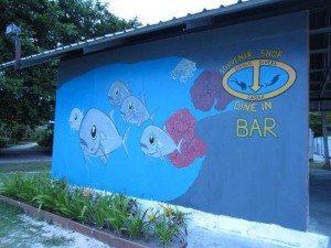 Beach Bar Entrance