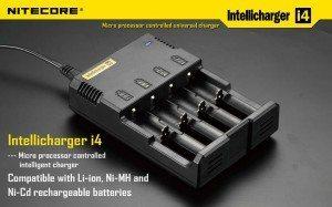 Charges Li-Ion, Ni-Mh & Ni-Cd batteries.