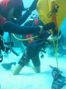 Lift bag training