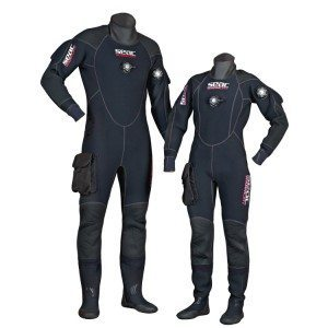 Drysuit - for the cold and deep waters.. (Special training needed)