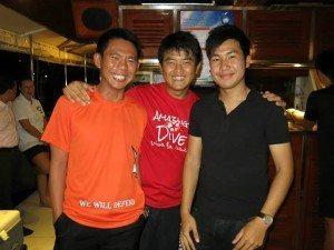 Jason, Alvin and Nicholas