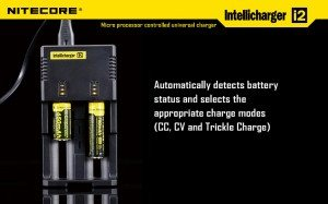 Intelligent auto-detect & select charging modes.