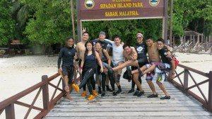 At Sipadan Island