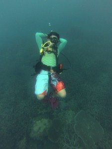 underwater is always relax