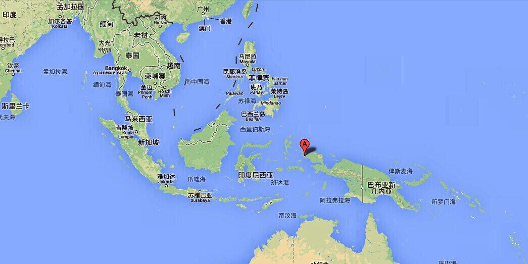 四王岛地图