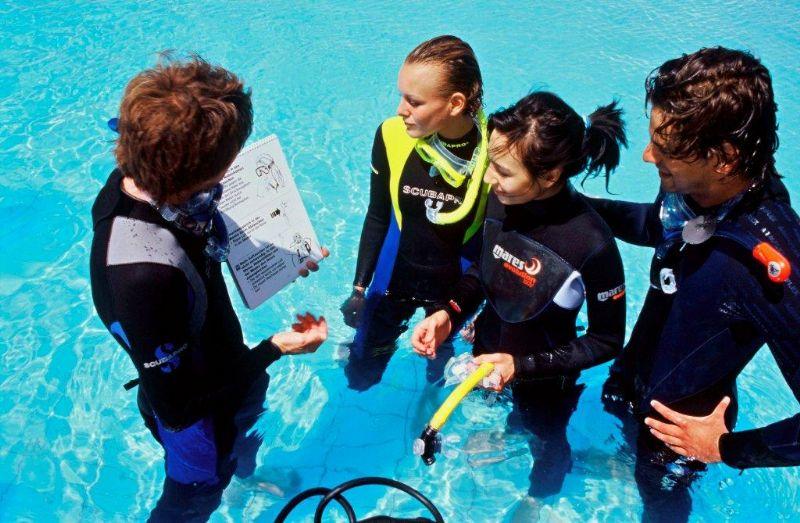 DSD体验水肺潜水理论