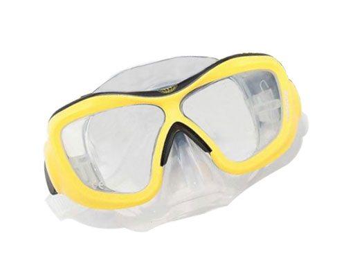 Best Scuba Mask | Poseidon Mask 3D Yellow