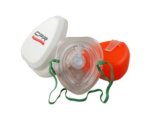 Aropec CPR Pocket Mask PVC Material with box