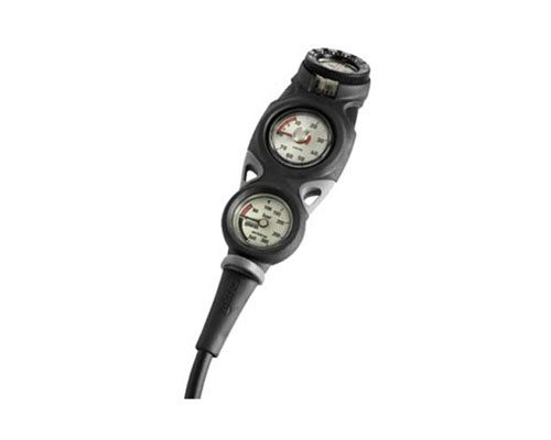 Mares Console Mission 3 Pressure and Depth Gauge and Compass (Metric)