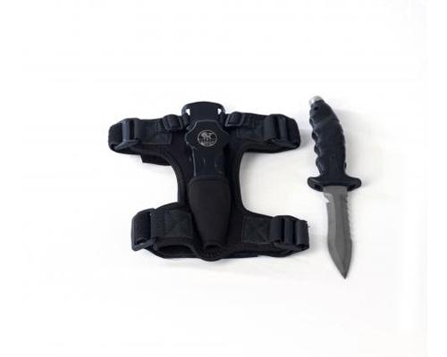 Poseidon Black Line Titanium Knife
