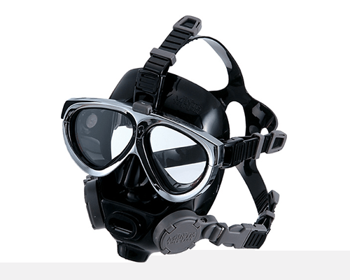 Gull Mantis Full Face Black Silicon Mask | Best Scuba Mask | Best Scuba Full face Mask