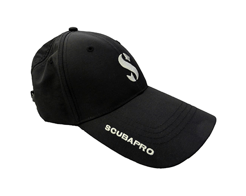 Scubapro Baseball Cap - BLACK | Best Scuba Clothing