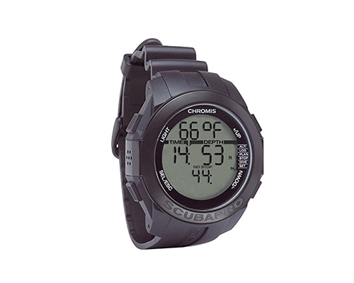 Scubapro Chromis Full Black   Best Dive Computer   Best Dive Watch