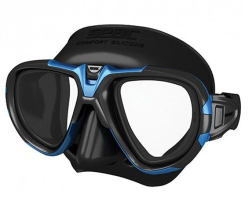 Seac Sub Fox Mask Black Blue | Best Scuba Mask