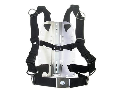 Zeagle Deluxe Harness with SS Backplate | Best Scuba BCD