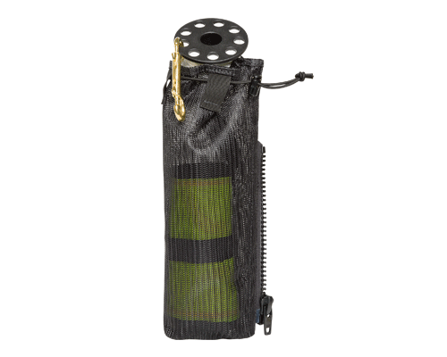 Zeagle QD Deluxe Signal Tube with Plastic Reel and zippered pouch | Best Scuba BCD
