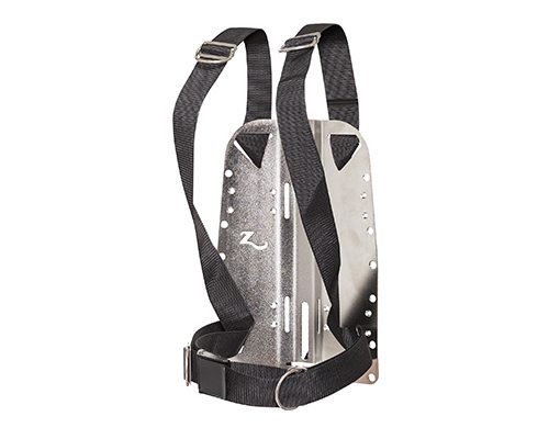 Zeagle Standard Harness with Stainless Backplate | Best Scuba BCD