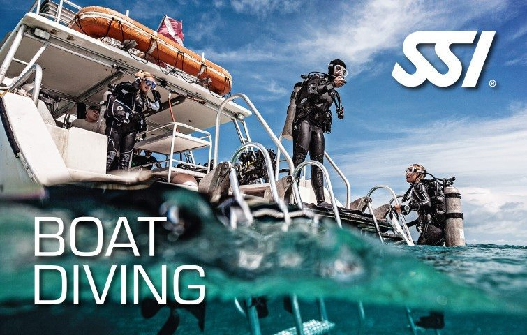 SSI Boat Diving Course | SSI Boat Diving | Boat Diving | Basic Course