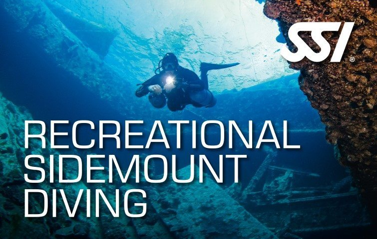 SSI Recreational Sidemount Diving Course | SSI Recreational Sidemount Diving | Recreational Sidemount Diving | Basic Course