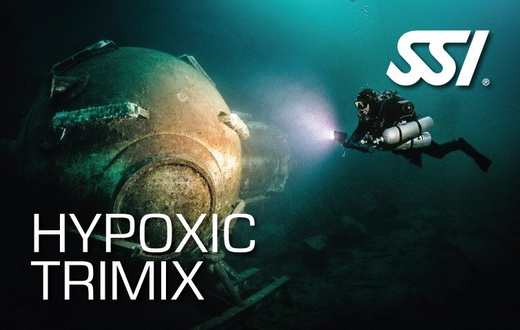 SSI Hypoxic Trimix Course | SSI Hypoxic Trimix | Hypoxic Trimix | Technical Diving Course