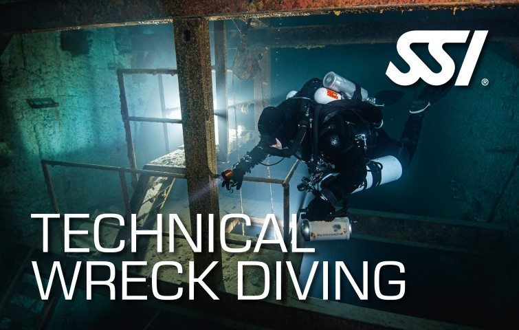 SSI Technical Wreck Diving Course | SSI Technical Wreck Diving | Technical Wreck Diving | Basic Course