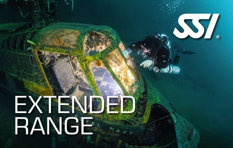 SSI Extended Range Course | SSI Extended Rangeg | Extended Range | Technical Diving Course