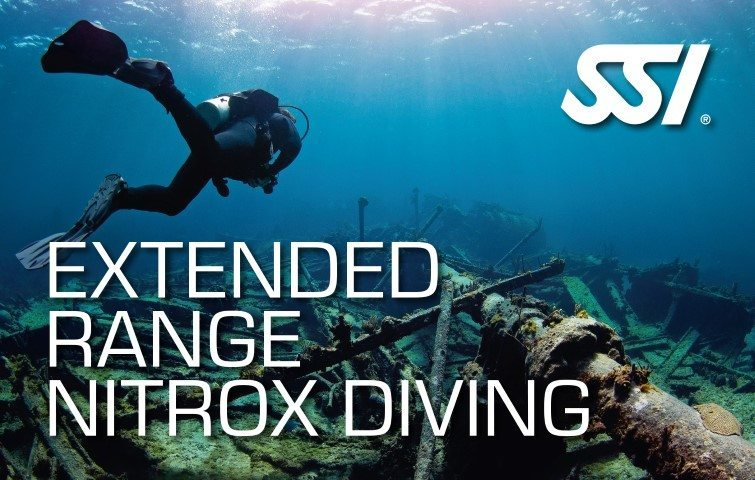 SSIExtended Range Nitrox Diving Course | SSI Extended Range Nitrox Diving | Extended Range Nitrox Diving | Technical Diving Course