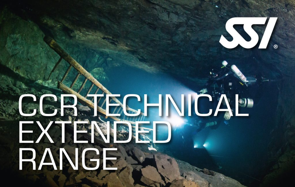 SSI CCR Tecnical Extended Range Course | SSI CCR Tecnical Extended Range | CCR Tecnical Extended Range | Diving Course