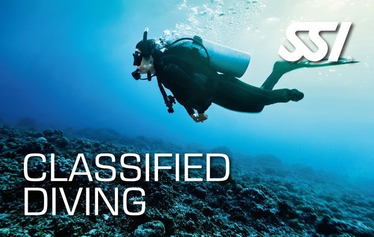 SSI Classified Diving Course | SSI Classified Diving | Classified Diving | Diving Course
