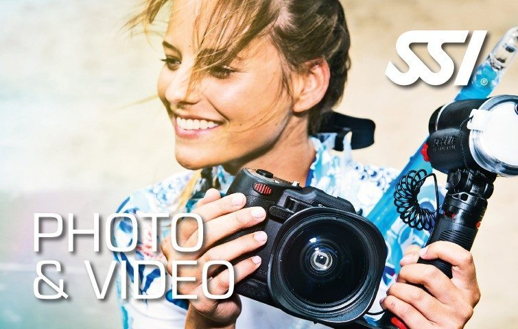 SSI Photo & Video Course | SSI Photo & Video | Photo & Video | Diving Course