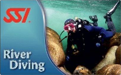 SSIRiver Diving Course   SSI River Diving   River Diving   Diving Course