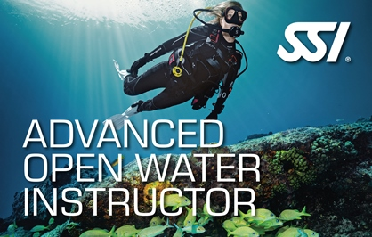 SSI Advanced Open Water Instructor Course | Diving Courses