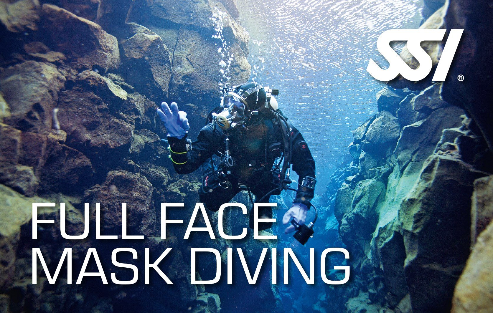 SSI Full Faced Mask Diving | SSI Full Faced Mask Diving | Full Faced Mask Diving | Diving Course