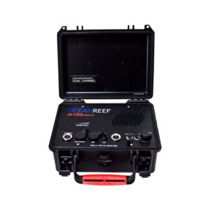 Ocean Reef M-105 Digital Dual Channel Transceiver Surface Unit with Battery Tester