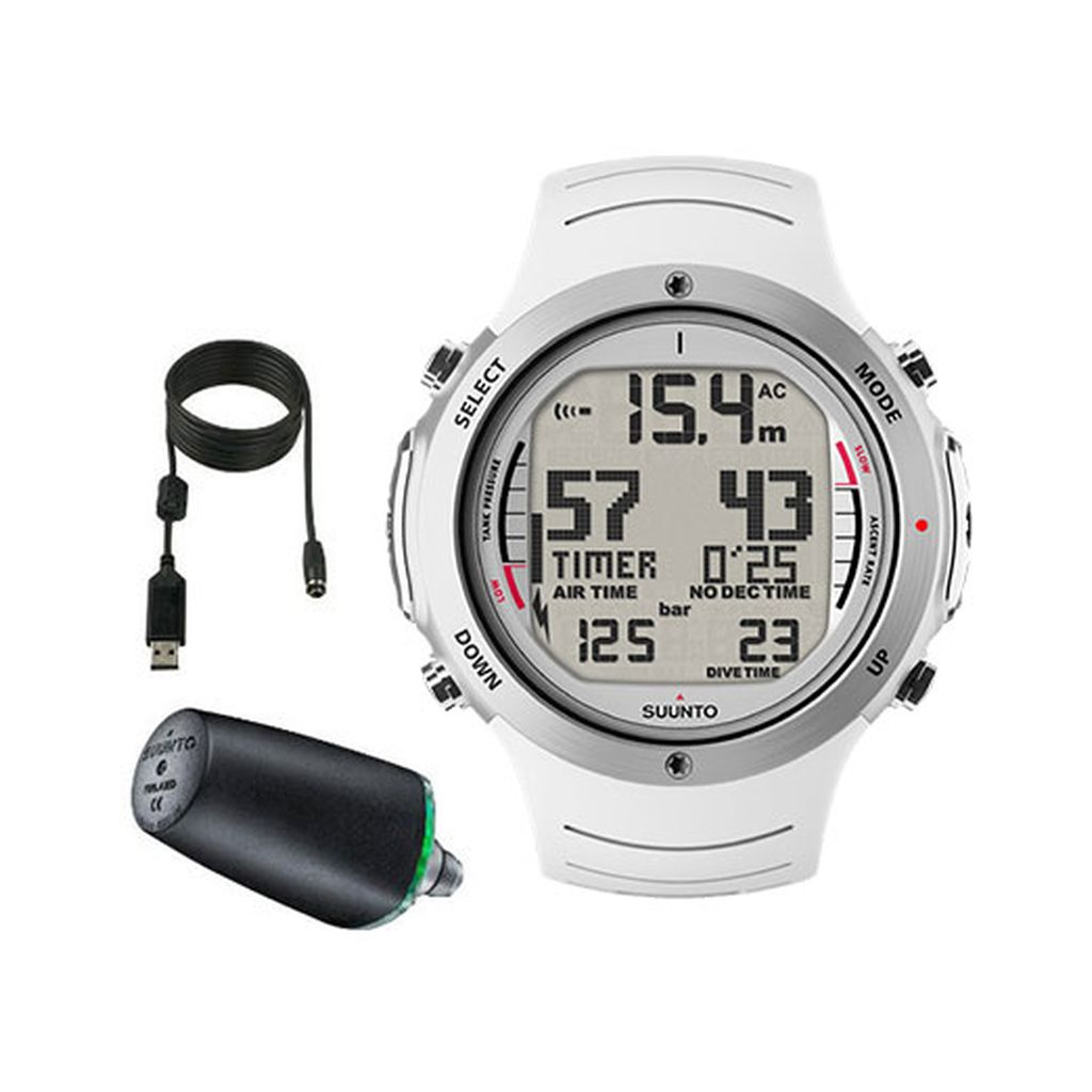 Suunto D6i Elas Dive Computer with Transmitter and USB