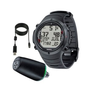 Suunto D6i Elastomer Dive Computer with Transmitter and USB