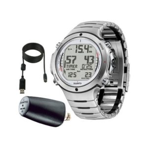 Suunto D6i Steel Dive Computer with Transmitter and USB