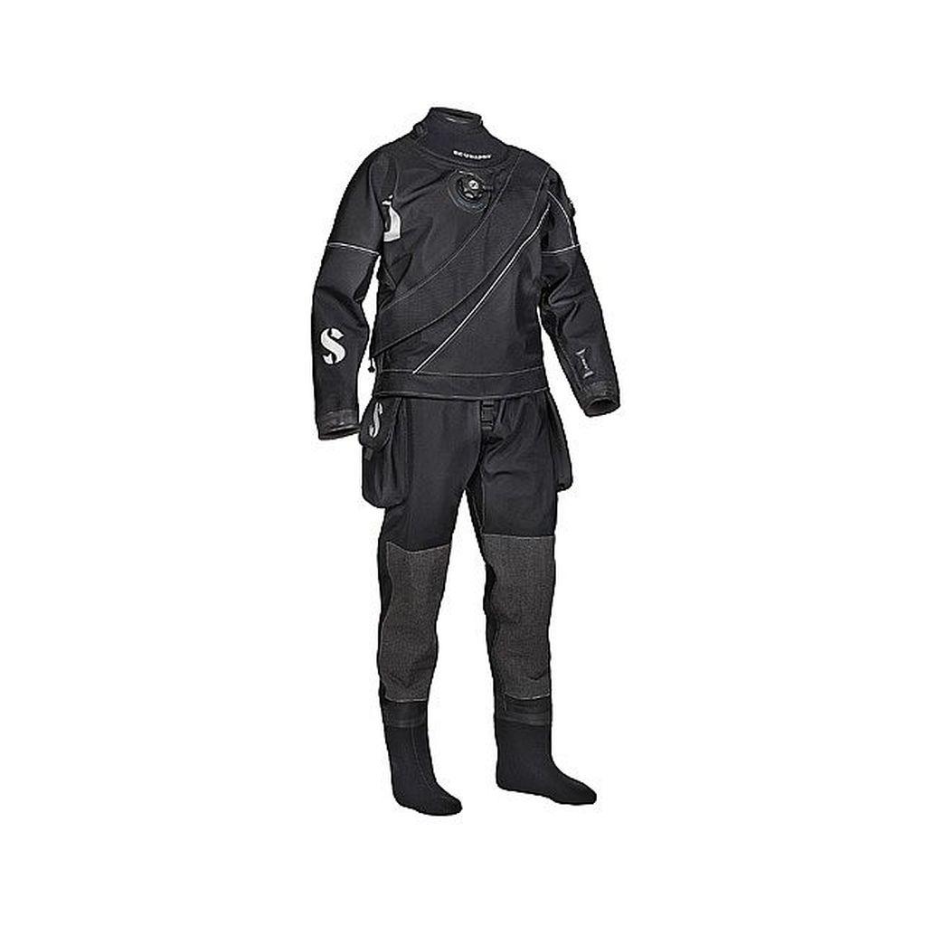 Scubapro Evertec LT drysuit w metal zippers - w bag and LP Hose