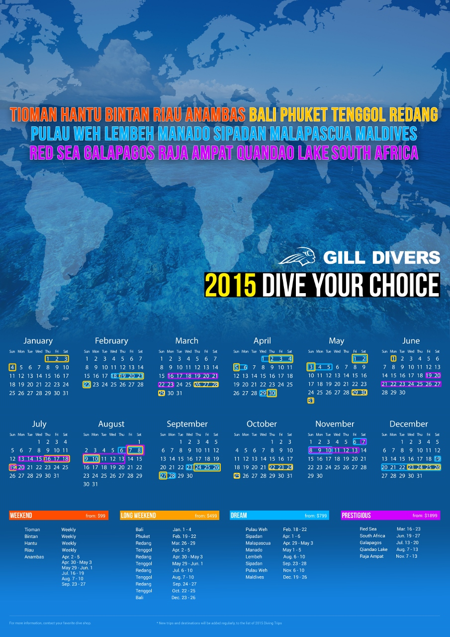 Dive Your Choice 2015