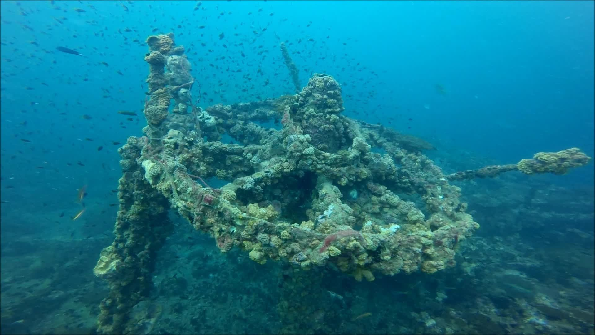 The Sunken Igara Ship After 45 Years