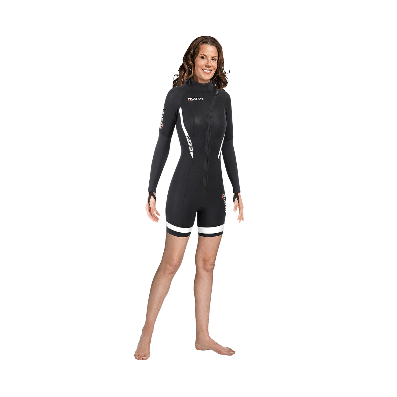 Mares 2nd Shell Shorty She Dives Wetsuit | Mares Wetsuits | Mares Singapore