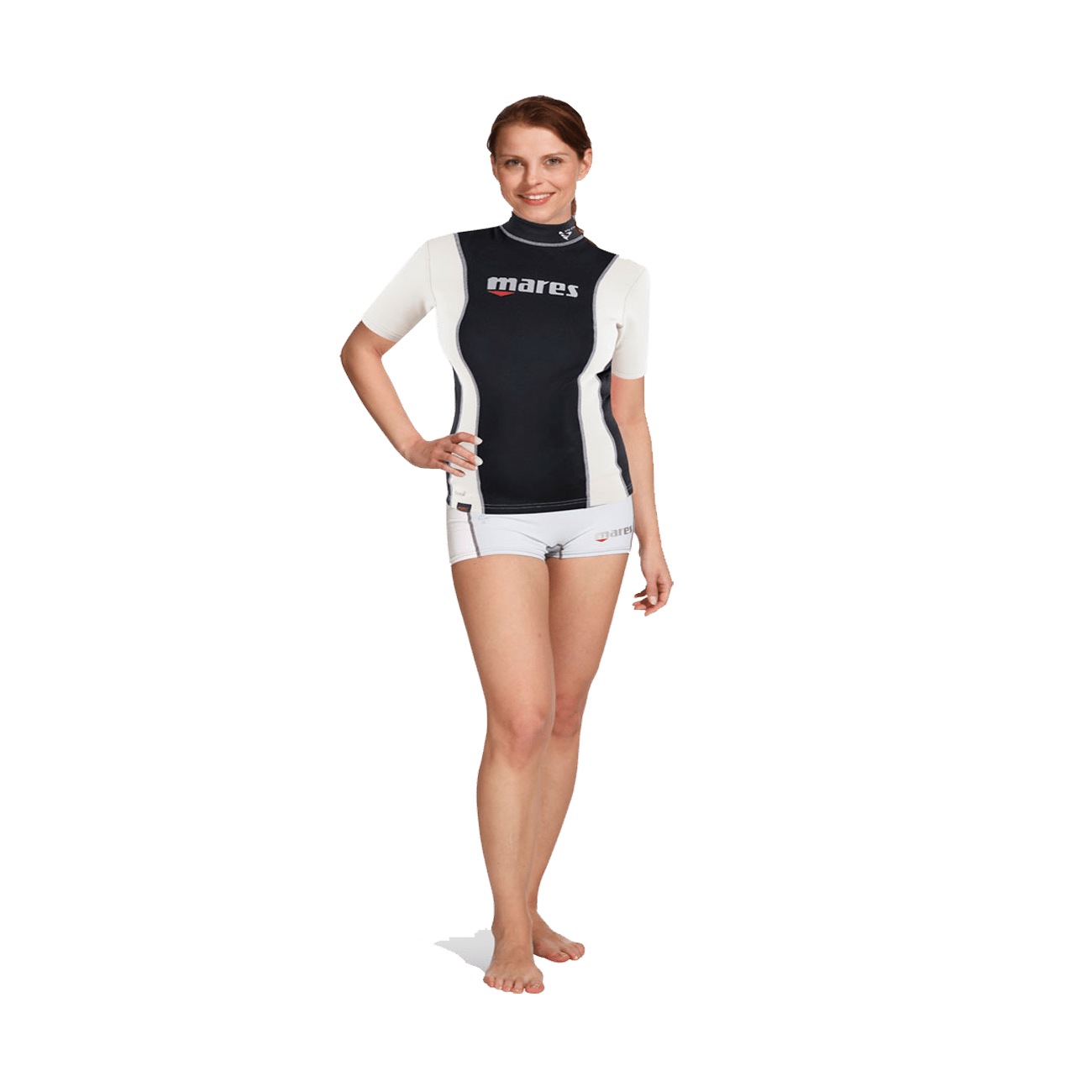Mares Fire Skin Short Sleeve She Dives | Mares Rashguards | Mares Singapore